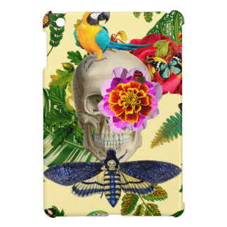 Tropical Skull iPad Mini Covers