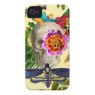 Tropical Skull iPhone 4 Case