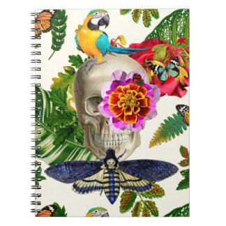 Tropical Skull Notebooks