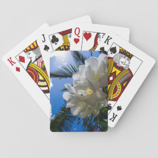 Tropical Sky View Playing Cards