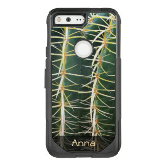 Tropical Sphere Cactus Botanical Photo any Text OtterBox Commuter Google Pixel Case