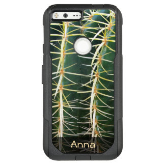 Tropical Sphere Cactus Botanical Photo any Text OtterBox Commuter Google Pixel XL Case
