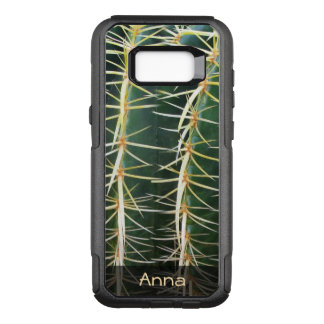 Tropical Sphere Cactus Botanical Photo any Text OtterBox Commuter Samsung Galaxy S8+ Case