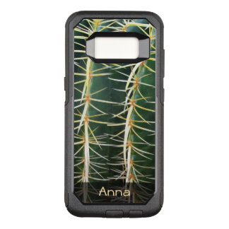 Tropical Sphere Cactus Botanical Photo any Text OtterBox Commuter Samsung Galaxy S8 Case