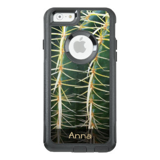 Tropical Sphere Cactus Botanical Photo any Text OtterBox iPhone 6/6s Case