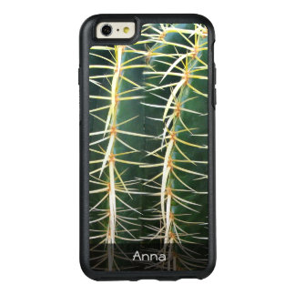 Tropical Sphere Cactus Botanical Photo any Text OtterBox iPhone 6/6s Plus Case