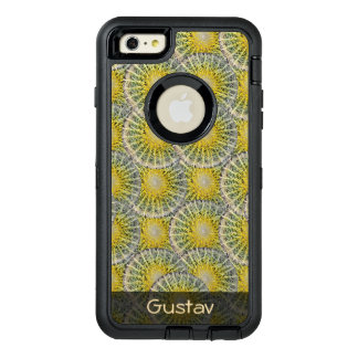 Tropical Sphere Cactus Pattern any Text OtterBox iPhone 6/6s Plus Case