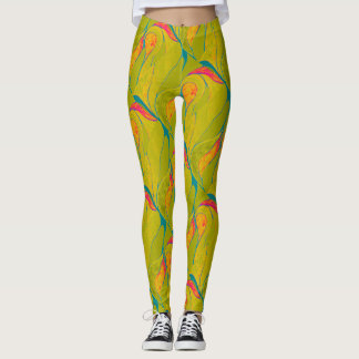 Tropical Splash Leggings