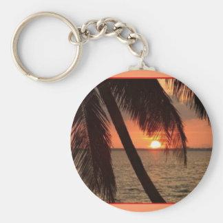 tropical splendor  - keychain
