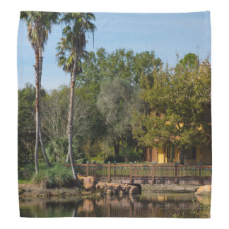Tropical Springs Paradise Bandana