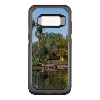 Tropical Springs Paradise OtterBox Commuter Samsung Galaxy S8 Case
