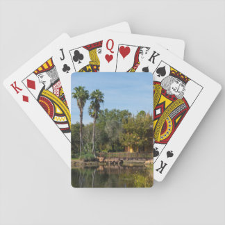 Tropical Springs Paradise Playing Cards