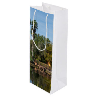 Tropical Springs Paradise Wine Gift Bag