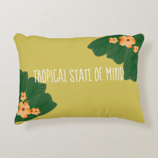 Tropical State of Mind pillow
