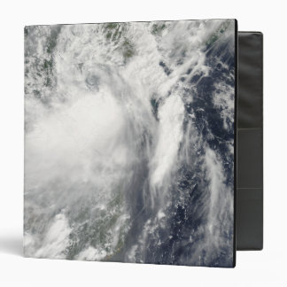 Tropical storm Conson approaching Vietnam 3 Ring Binder