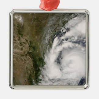 Tropical Storm Dolly Silver-Colored Square Ornament