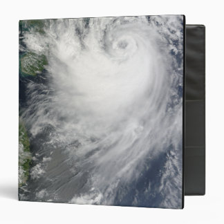 Tropical Storm Koppu nearing landfall 3 Ring Binder