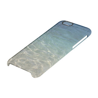 Tropical Summer Beach Clear iPhone 6/6S Case