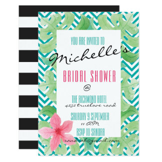 Tropical Summer Beach Invite
