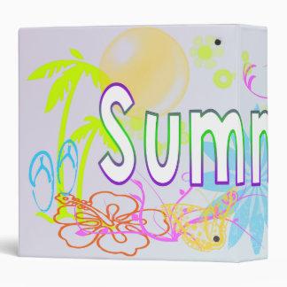 Tropical Summer Binder