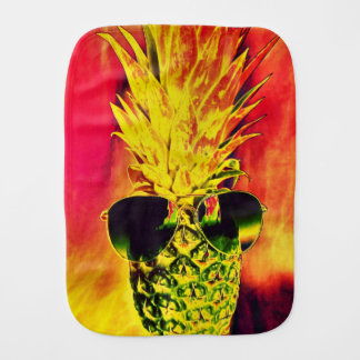 Tropical Summer Burp Cloth