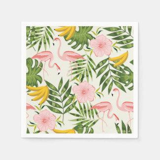 Tropical Summer Flamingo Napkin Disposable Napkin