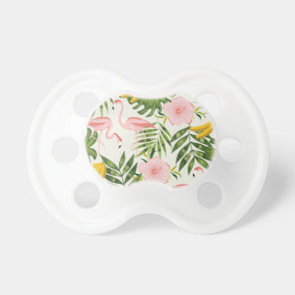 Tropical Summer Flamingo Pacifier