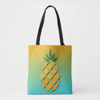 Tropical Summer Pineapple Tote