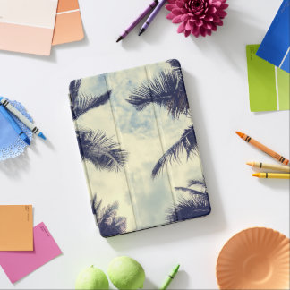 Tropical Summer Sky and Palm Leaves iPad Air Case iPad Air Cover
