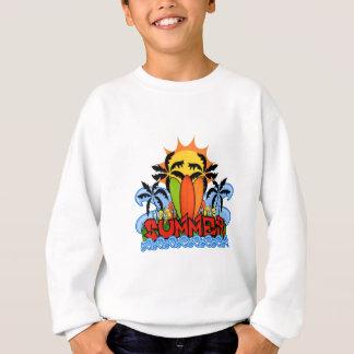 Tropical summer sweatshirt