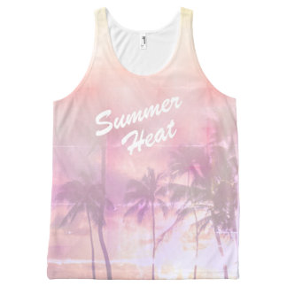 Tropical summer vibes All-Over-Print tank top