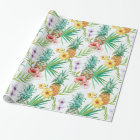 Tropical Summer Wrapping Paper