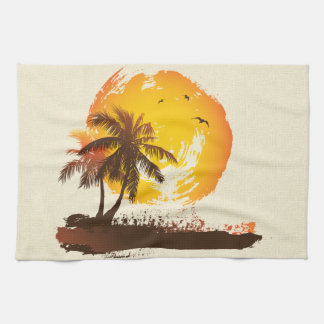 Tropical Sun Kitchen Towel