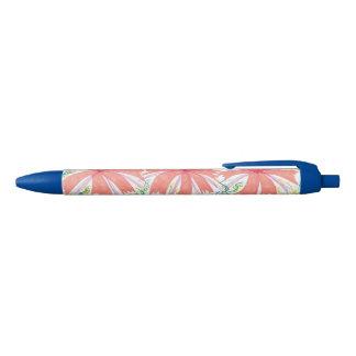 Tropical Sunburst Flower Pen