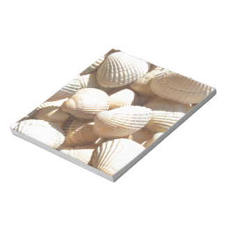 Tropical Sunny Exotic Sea Shells Notepads