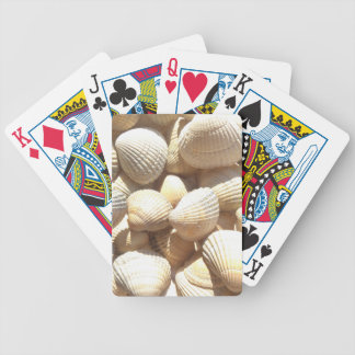 Tropical Sunny Exotic Sea Shells Poker Deck
