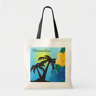 Tropical Sunrise Beach Bag