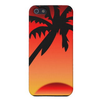 Tropical Sunset2 iPhone 5/5S Cases
