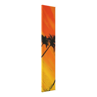 Tropical Sunset 1-4 Canvas Print