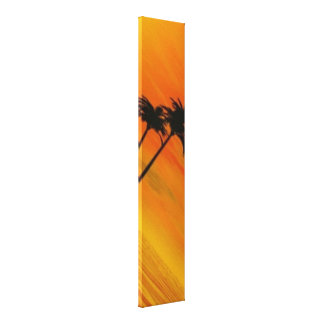 Tropical Sunset 4-4 Canvas Print