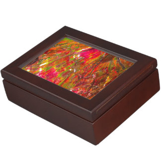 Tropical Sunset Ammolite Keepsake Box