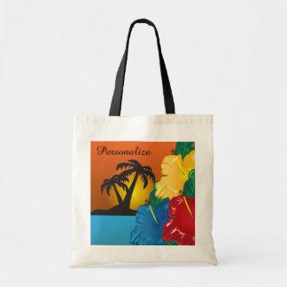 Tropical Sunset Beach Bag