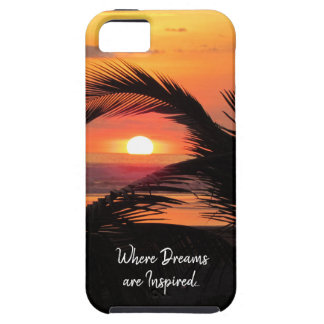 Tropical Sunset Beach View Case For The iPhone 5