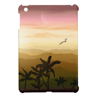 Tropical Sunset iPad Mini Cases