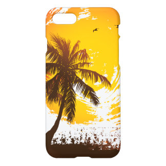 Tropical Sunset iPhone 7 Case