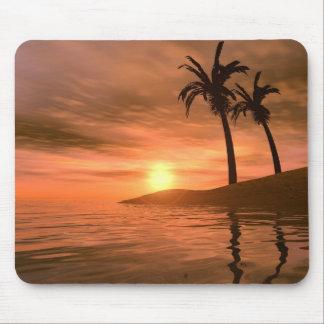 Tropical Sunset Mousepad