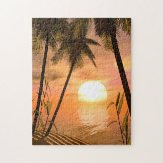 Tropical Sunset Puzzle