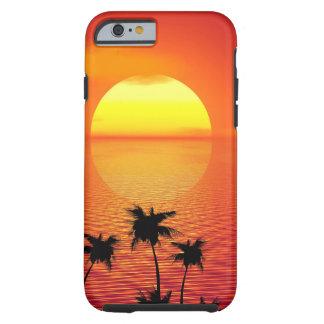 Tropical Sunset Tough iPhone 6 Case