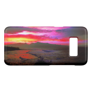 Tropical Sunset Windy Island Sea Case-Mate Samsung Galaxy S8 Case
