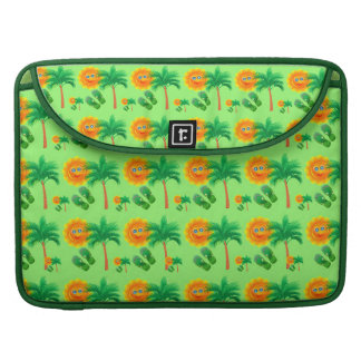 Tropical Sunshine and Palm Trees Sleeve For MacBook Pro